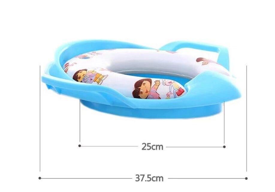 Bebê treinamento higiênico macio assento almofada do