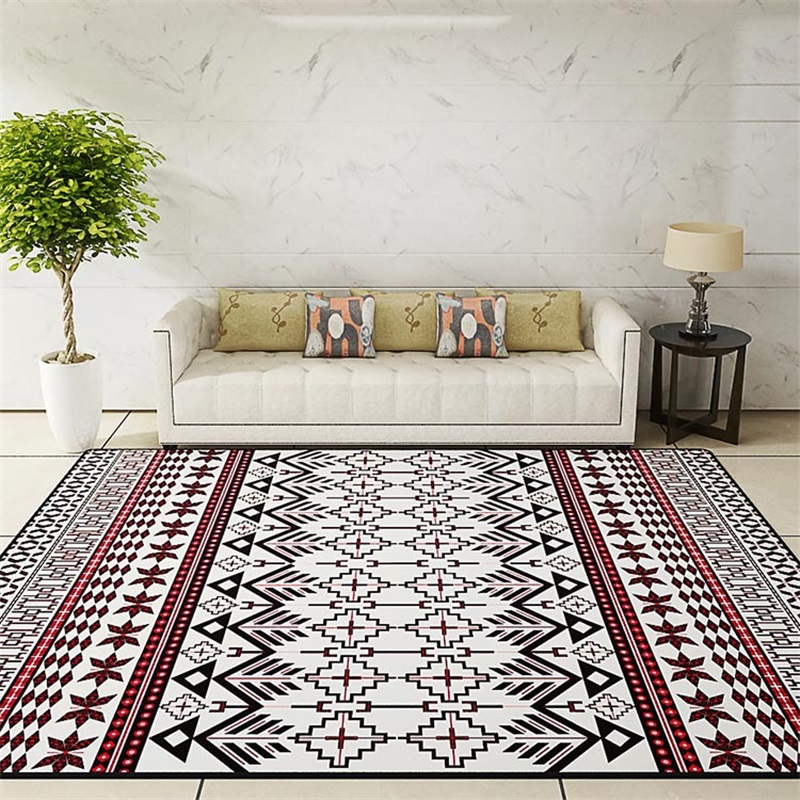 National Style Parlor Living Room Decorative Carpet Floor