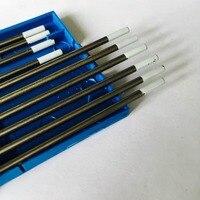 2016 Factory Direct Sale 10pcs WZ20 0 8 Zirconiated TIG Welding Tungsten Electrode 2 4mm 150mm