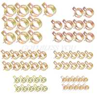 60Pcs Auto Car Spring Clip Fuel Oil Water Hoes Pipe Tube Clamp Fastener 6 Sizes