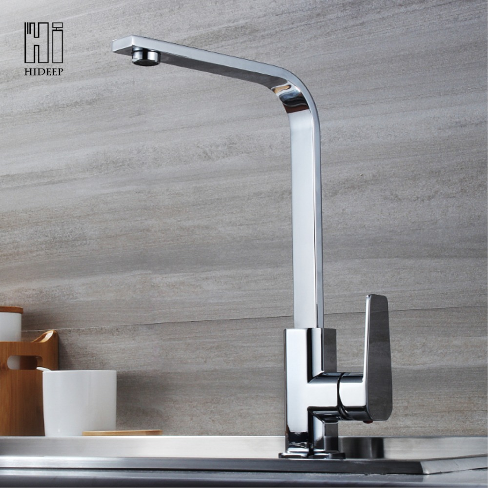 Kitchen Faucet No Water: HIDEEP Kitchen Faucets Kitchen Hot Cold Water Mixer Pure
