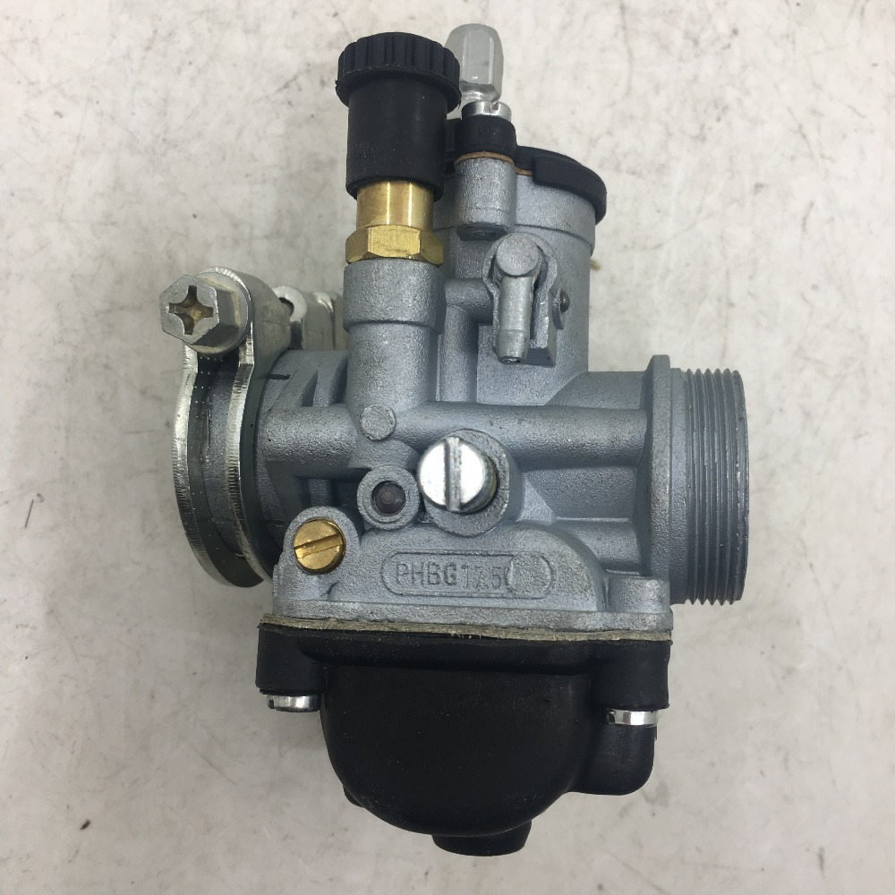 SherryBerg CARB Carburettor Carby Carburetor Fit VESPA Moped/pocket Replace Dellorto PHBG17.5mm With Choke Phbg 17  17mm Carb