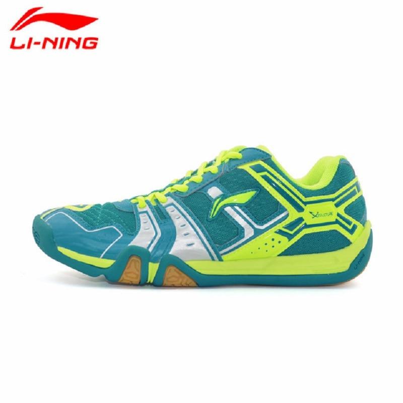 Li-Ning Original 2017 Men's Saga Light TD Badminton Shoes Training Breathable Anti-Slippery Light Sneakers Sport Shoes AYTM085 li ning original men ranger td badminton training shoes breathable sneakers wear resistance li ning sports shoes aytm081