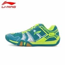 Li-Ning Original 2017 Men's Saga Light TD Badminton Shoes Training Breathable Anti-Slippery Light Sneakers Sport Shoes AYTM085