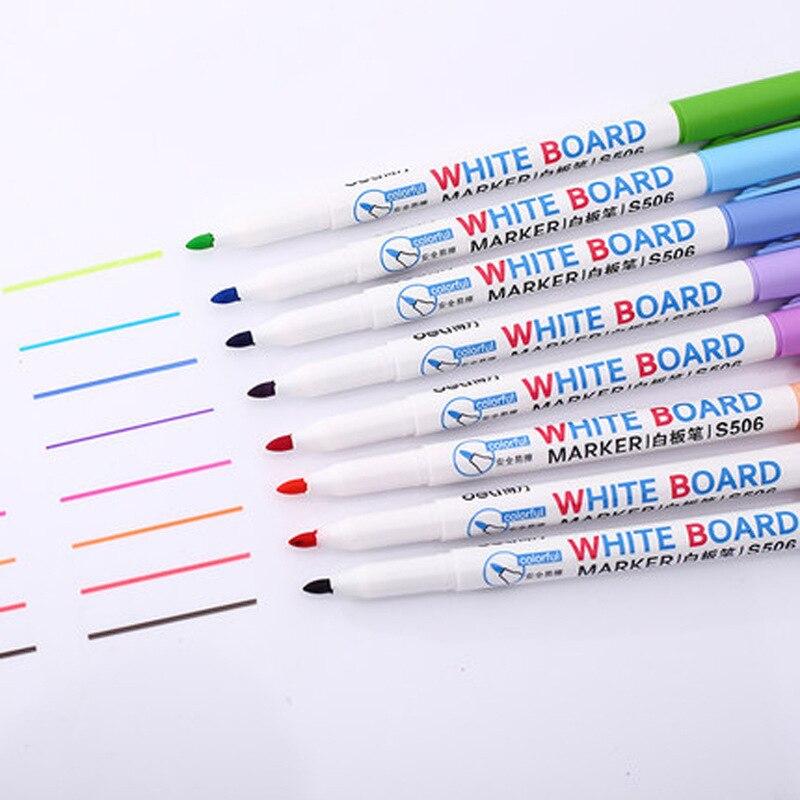 இ8 colores de bajo olor marcadores de borrado en seco, Pizarras ...