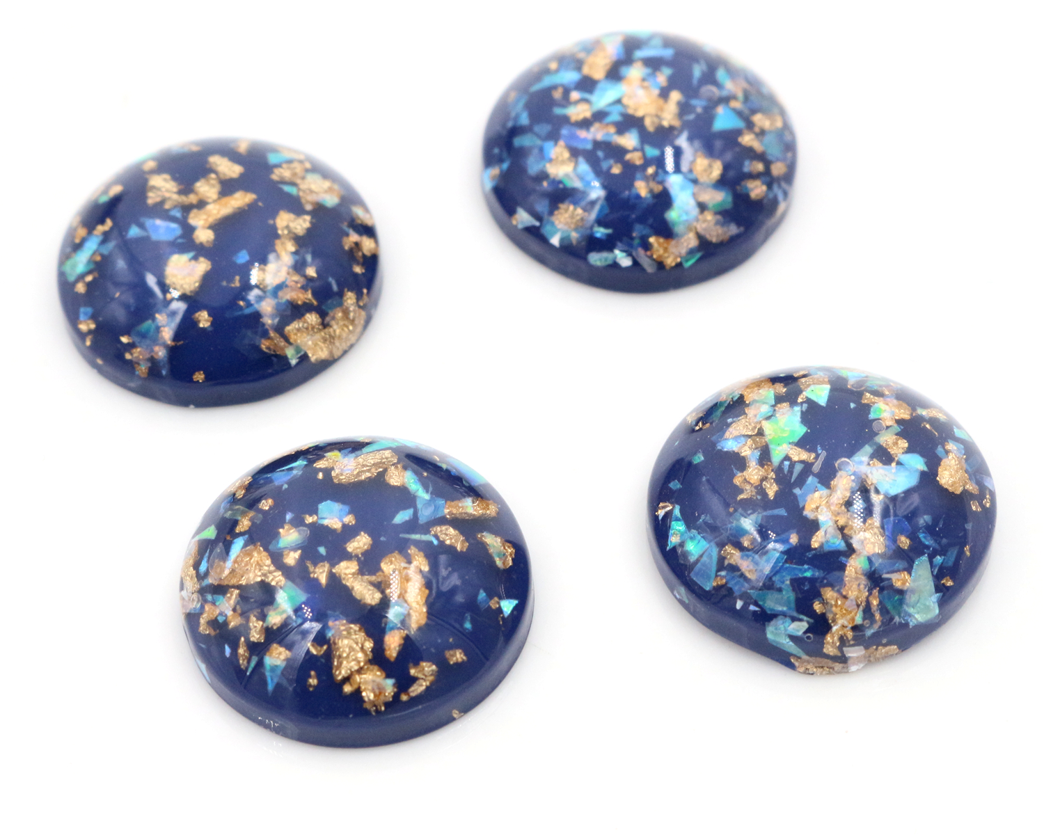 20mm 10pcs/Lot New Fashion Blue Color Built-in metal foil Flat back Resin Cabochons Cameo-V6-1020mm 10pcs/Lot New Fashion Blue Color Built-in metal foil Flat back Resin Cabochons Cameo-V6-10
