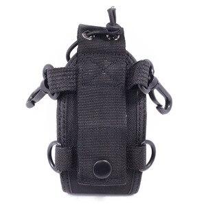 Image 5 - 2PCS MSC 20E Big Nylon Pouch Bag Carry Case for Yaesu BaoFeng UV XR UV 9R Plus UV 5R UV 82 Mototrola GP328 GP3688 Walkie Talkie