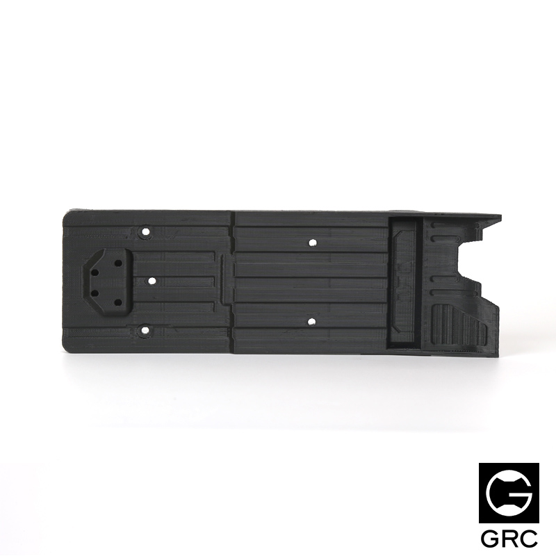 Rear Center Chassis Plate Chassis Cover Plate For Axial SCX10 II AX90046 / AX90047 vu table driven plate replacement level bile machine chassis before ta7318p amplifiers