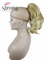 Extensão Do cabelo Sintético Lady Wowen Ondulado Garra Grampo Cavalo Pônei Cauda Extensão Do Cabelo peruca COR ESCOLHAS