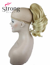 Hair Extension Synthetic Lady Wowen Wavy Claw Clip Ponytail Pony Tail Hair Extension hairpiece COLOUR CHOICES