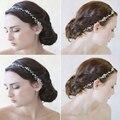 2016 New Tiara Crystal Bridal Wedding Crown Headdress Headband White Wedding Hair Accessories Hair Claw Hairwear