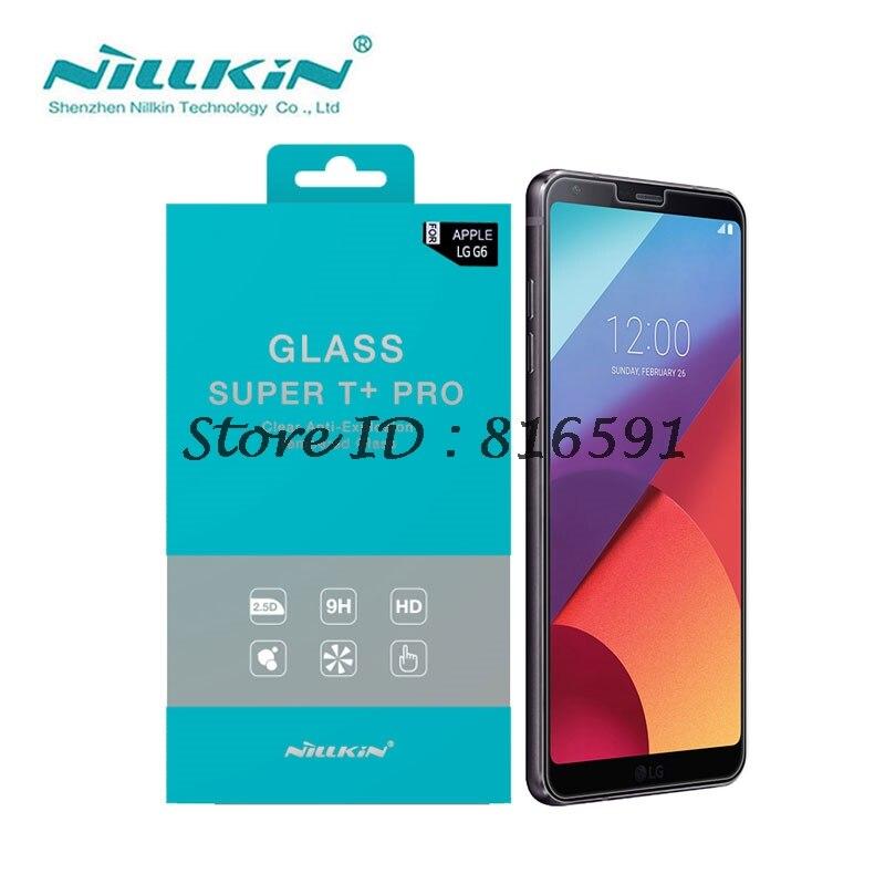 imágenes para Protector de pantalla Para LG G6 5.7 pulgadas Nillkin Increíble Super T + Pro Anti-Explosión 0.15 MM LG G6 Vidrio templado