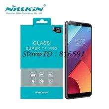 Спс lg g6 закаленное стекло nillkin удивительные супер t + pro против взрывов 0.15 мм протектор экрана для lg g6 5.7 дюймов