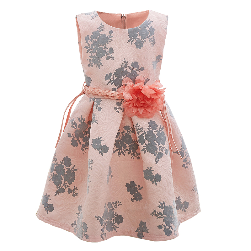 New 2017 Summer Dresses For Girls Clothes Princess Wedding Girls Dress Fashion Toddler  Dress Vestidos 1 2 3 4 5 Years flower girl dress party wedding toddler summer girls dresses 2017 new kids clothes clothing new fashion 3 4 5 6 7 8 9 10 years