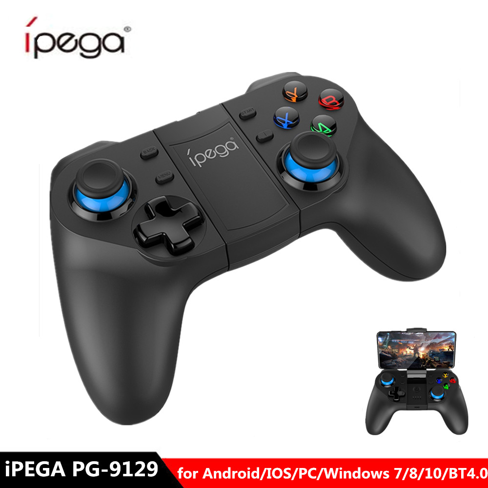 IPEGA Gamepad Joystick IOS Bluetooth Custom-Function PG-9129 Android Wireless Flexible title=