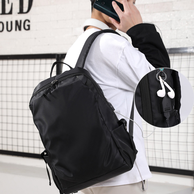 Men Backpack Usb Charging Student School Bags for Teenager Boy Laptop Back Pack Waterproof Oxford Back Pack Large Bagpack BlackMen Backpack Usb Charging Student School Bags for Teenager Boy Laptop Back Pack Waterproof Oxford Back Pack Large Bagpack Black