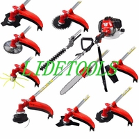 2019 New Model Multi 52CC 10 in 1 Multi brush cutter grass trimmer lawn mower tree pruner tool garden work