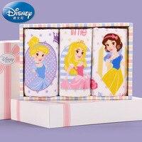 Echte produkt Disney Disney Princess 3 gaze tuch kind handtuch box aus reiner baumwolle kleines handtuch baby großhandel kinder
