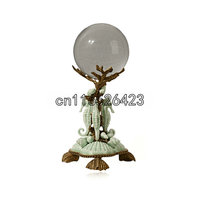 Европейский стиль Керамика инкрустированные меди творческий предметы мебели классический хрустальный шар мягкий наряд ремесла