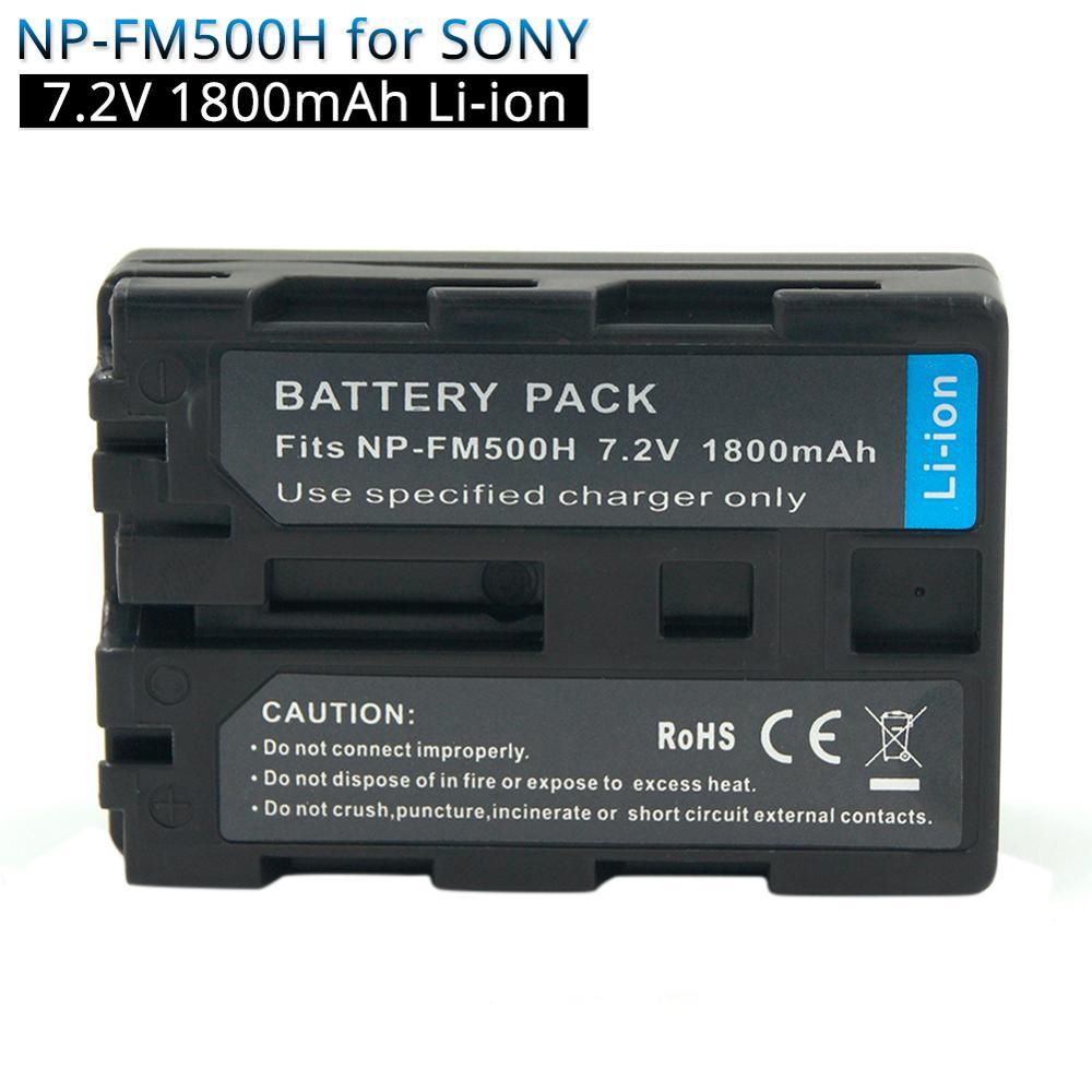 NP FM500H NPFM500H NP FM500H 1800mAh Rechargeable Camera Battery for Sony A57 A58 A77 A200 A300 A500 A580 A550 A350 A700 A850|Digital Batteries| |  - title=
