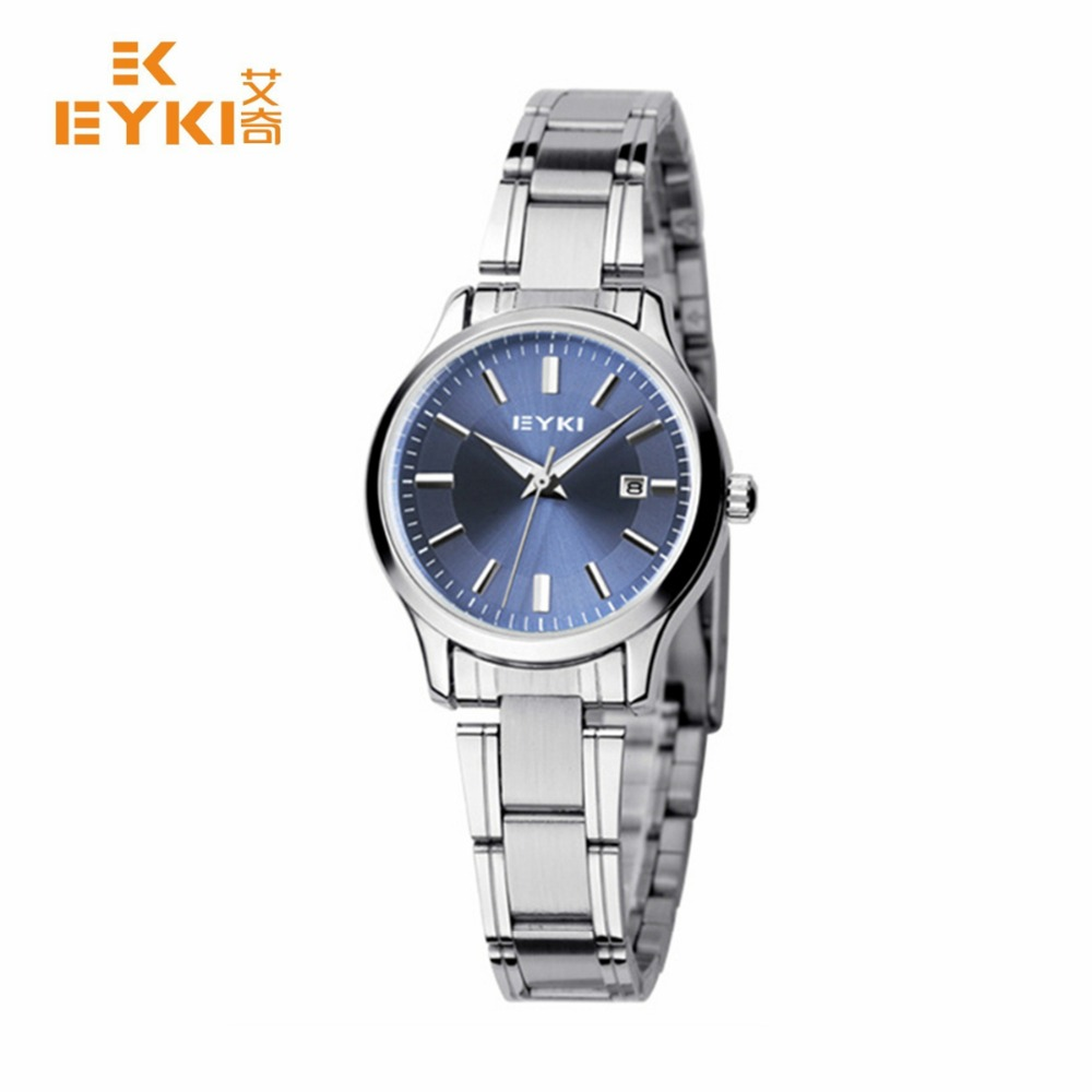 2017 Sale New Wrist Women Watches Brand Relogio Feminino Date Clock Female Stainless Steel Watch Ladies Fashion Casual Quartz bgg new famous top brand gold casual quartz watch women metal mesh stainless steel dress watches relogio feminino clock hot sale