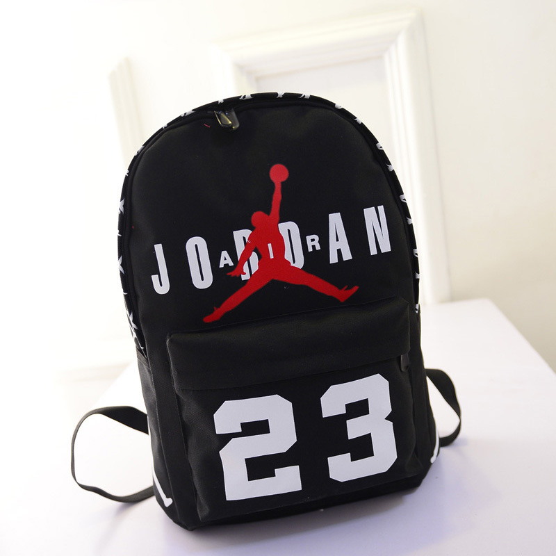 bolsas mochilas femininas 2015 Jordan women backpack schoolbag leisure  travel bag fashion teenagers canvas computer bag mochila-in Backpacks from  Luggage ... e7aa52633670c
