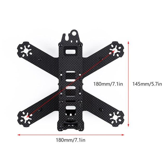 Quality Pure Carbon Fiber 180 210 Frame for 180 210 QAV180 210 Mini Quadcopter Drone Racing Crossing Frame