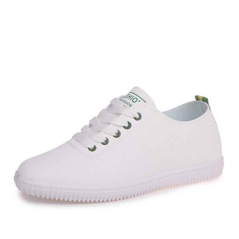 TAOFFEN femmes baskets chaussures vulcanisées à lacets bout rond décontracté femmes chaussures mode femmes chaussures taille 35-40