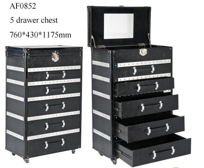 Online Fashion Leisure The Makeup Counters Classic Crocodile Pattern Chest  Of Drawers Cabinets Aliexpress Mobile