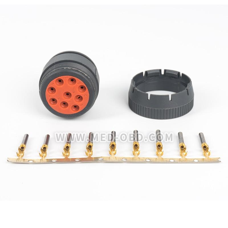 J1939 Deutsch Connector Female 9pin Plug HD10-9-1939PE  J1939 J1708 Conector for Car Truck Automotive Plug J1939 Conectors