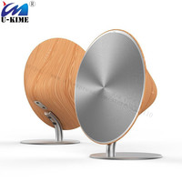 High Quality Wood Bluetooth Portable Speakers Wood Wireless Audio Receiver Touch NFC Home Theater for MP3 Phone Xiaomi