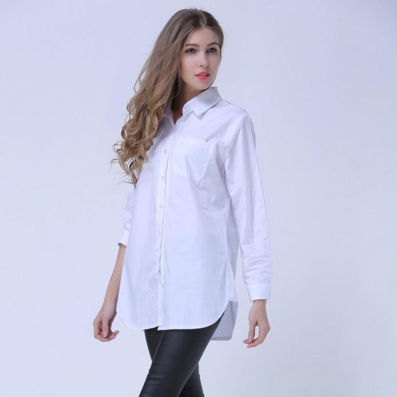 Aliexpress.com : Buy SHOWERSMILE Brand Oversized Blouse Women Plus ...