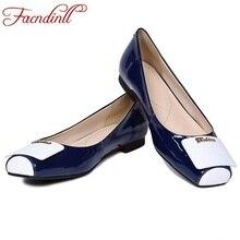 Плюс размер 33–41 новая весна из натуральной кожи обувь на плоской подошве для женщин модный стиль с квадратным носком черный белый повседневная женская обувь на плоской подошве