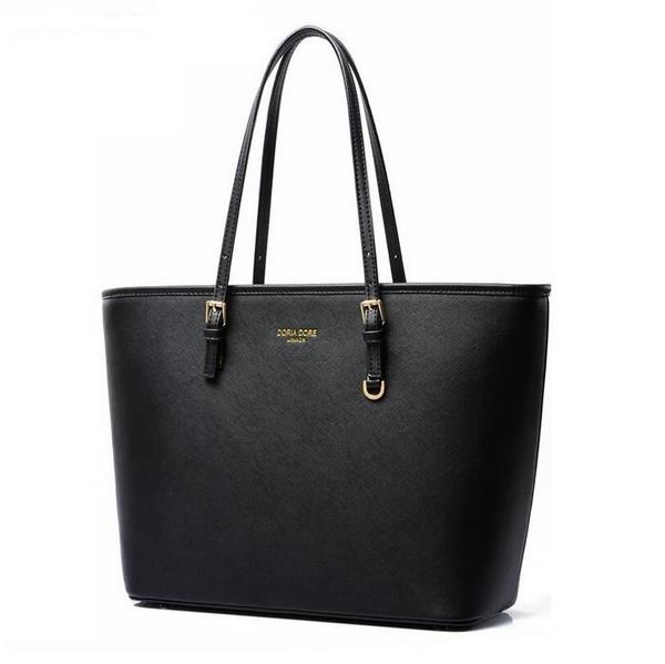 Fashion women handbags famous brand luxury designer shoulder bag ladies large tote high quality black PU leather top-handle bags imido 2017 europe large capacity pu leather bags ladies brand designer bag women handbags tote quality black blue bolsa hdg037