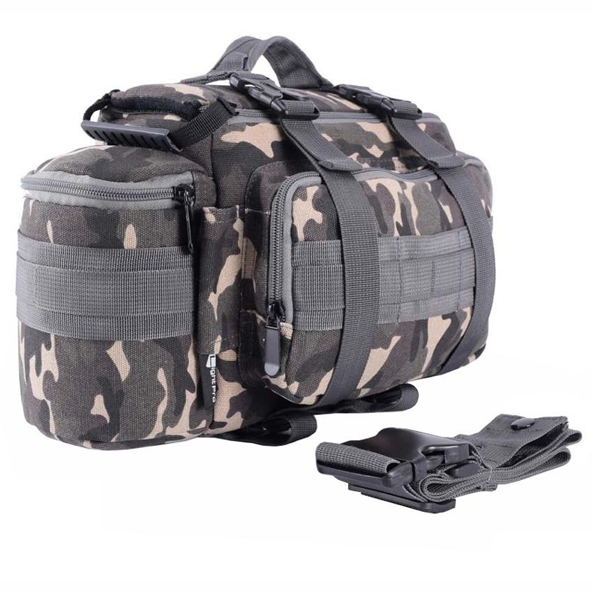 Canvas DSLR SLR Camera  BackPack Case Shoulder sucksack Bag With Rain Cover Sale