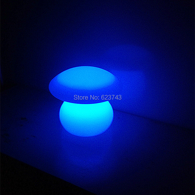 4 pieces/lot rechargeable colorful waterproof LED Mushroom lamp of LED little Table lamp for home decoration lighting муфты для рук esspero муфта для рук на коляску four lux