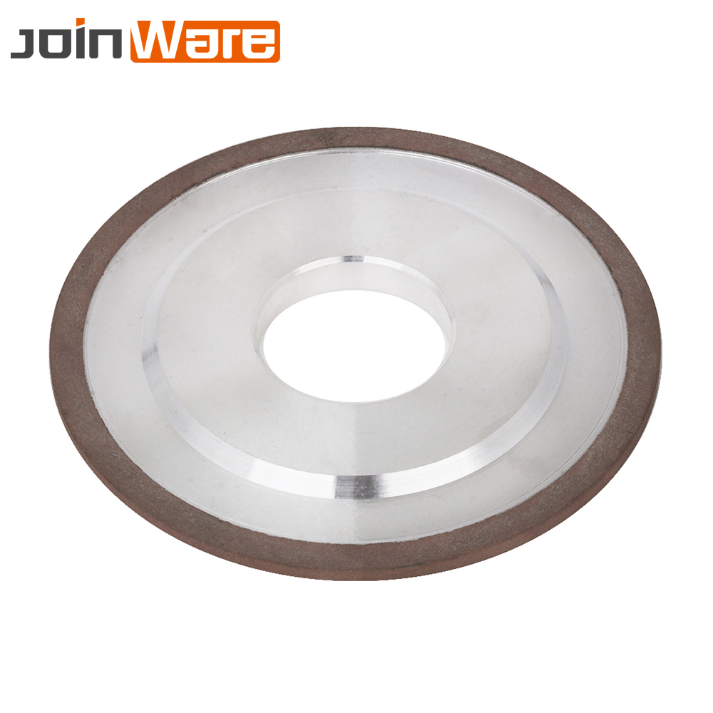 "4"" Resin Diamond Grinding Wheel Grinding Disc Abrasive Power Tools for Milling Cutter Grinder Bore 32MM 240# 100X32X5X4MM 1Pc