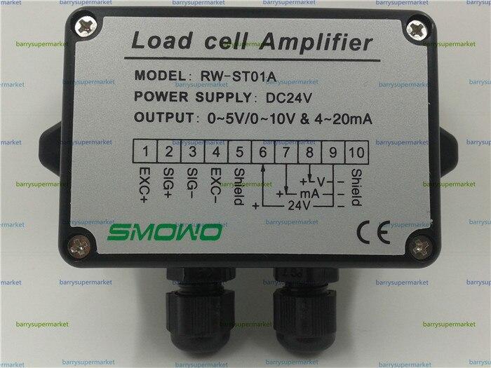 ФОТО RWST01A Loadcell / Strain Gauge Amplifier, Dual signal output (0~5V&4~20mA)