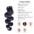 Europeu 7A Onda Do Corpo Grampo de cabelo humano Em Extensões Do Cabelo 7 pcs Grampo Em Extensões de Cabelo Humano