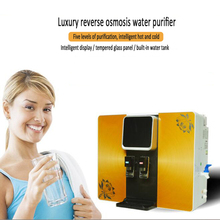 Five Levels Reverse Osm Water Softener RO Water Purifier Pure Water Machine Household Cold and Hot Digital Display