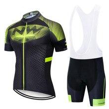 Мужские NW быстросохнущие Полиэстеровые гоночные велосипедные Джерси для езды на велосипеде спортивные шорты Уличная велосипедная рубашка Ropa Ciclismo трико