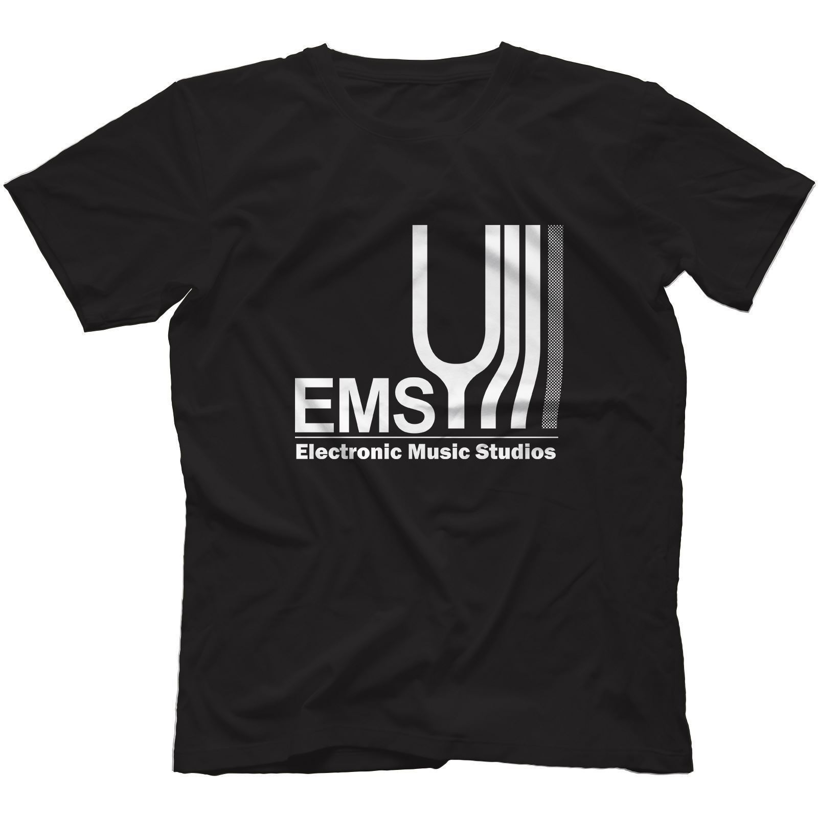 Electronic Music Studios T-Shirt 100% Cotton Synthi Aks Ems Retro Synth VCS3 Harajuku Cool T Shirt Homme Normal Dress