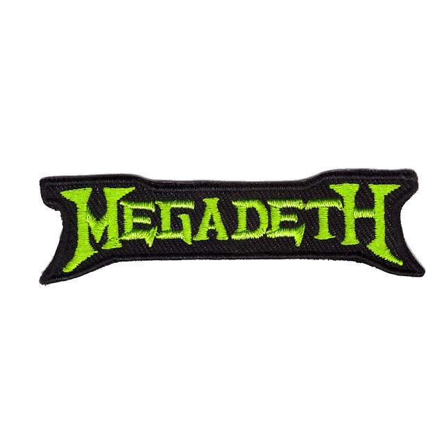 megadeth sew iron on patch rock band heavy thrash metal logo music rh aliexpress com megadeth logo svg megadeth logo wallpaper