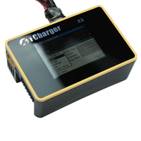 iCharger X8 1100W 30A DC LCD Screen Smart Battery Balance Charger Discharger for 1 8s LiPo/Lilo/LiFe/LiHV Battery RC Aircraft