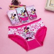 a9660be5a Venda quente algodão Kitty Minnie Crianças Underwear Bebê 4 pçs lote Roupa  Interior Menina Miúdos Crianças Cuecas Calcinhas Shor.