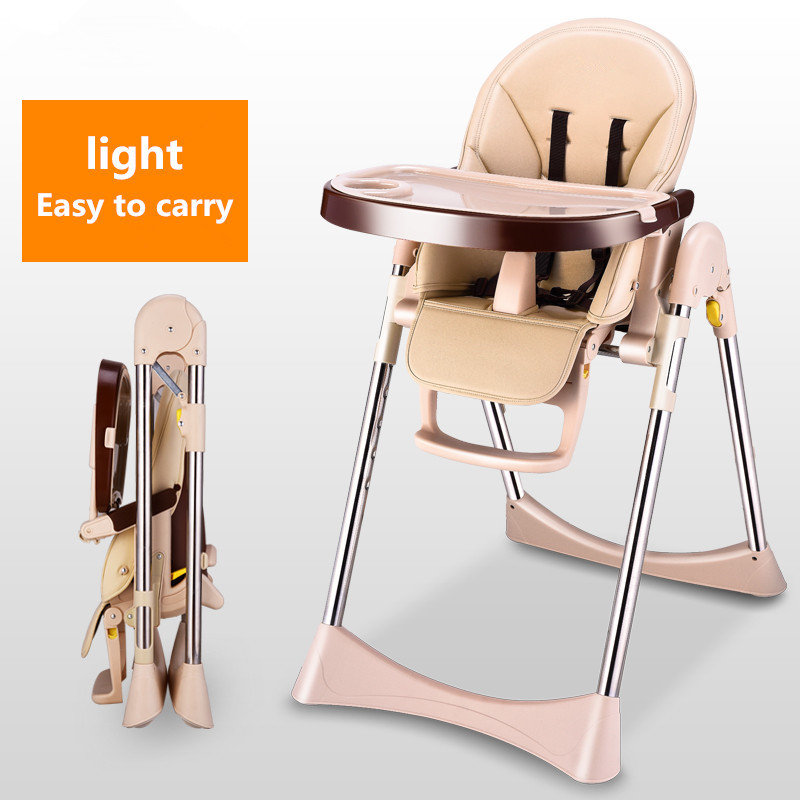 Baby dining chair child dining chair multifunctional folding portable baby chair dining table chair seat