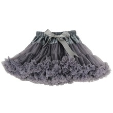 Sisiprincess Free Shipping 2015 Popular 21 Colors Baby Girls Tutu Fluffy Chiffon Vintage Pettiskirts 1-2T High Quality 8.5