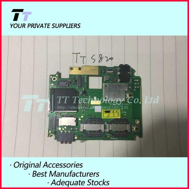 Original usado funcionan bien para lenovo s820 mainboard motherboard bordo tarjeta de tarifa de envío gratis