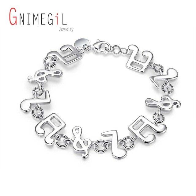 GNIMEGIL Brand Jewelry Innovative Design Fashion Silver Plated