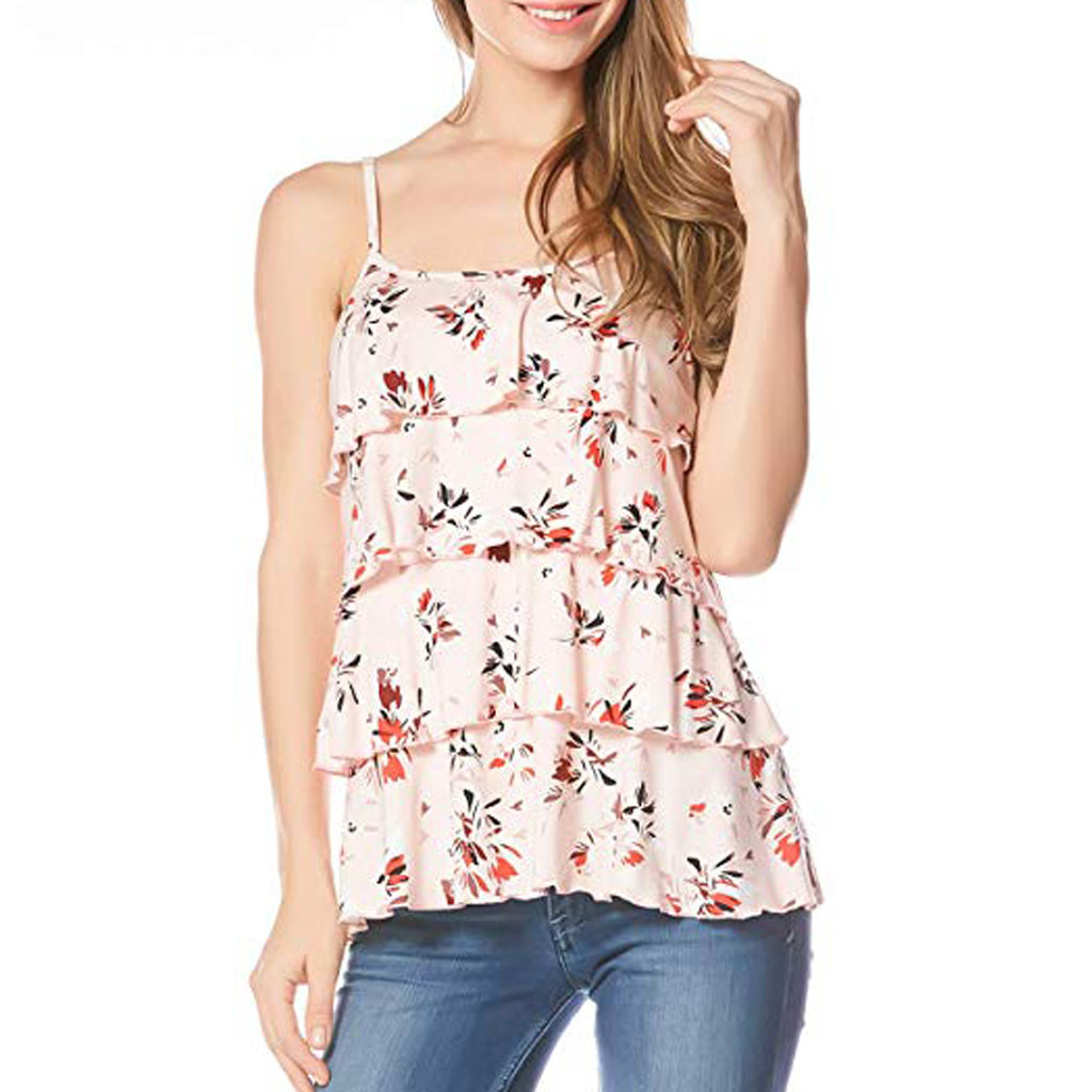 Nursing Top Women Summer Floral Casual Sleeveless Tshirt For Breastfeeding Tee Pregnant Maternity Clothes Ropa Embarazada 19a10 Maternity Clothing Tees